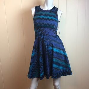 French Connection Fit & Flare Skater Dress